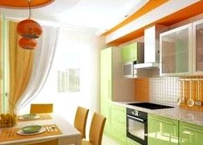 Безупречная по цвету кухня оказывает влияние на  здоровье и настроение