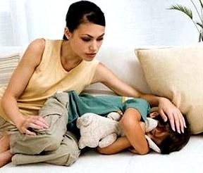 Запоры у малышей